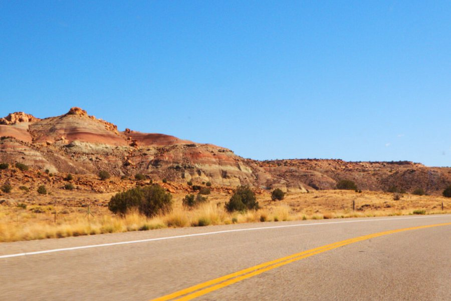 Beautiful Painted Desert formations