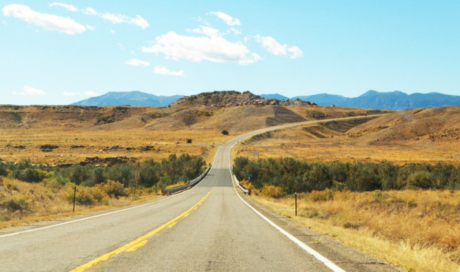 On the Road Near the Four Corners Monument