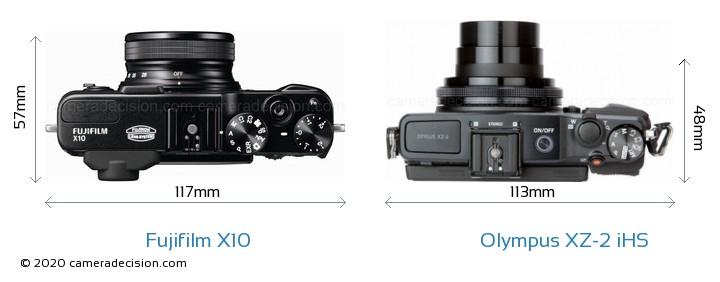 Fujifilm X10 vs Olympus XZ-2 iHS Detailed Comparison