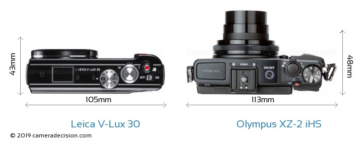 Leica V-Lux 30 vs Olympus XZ-2 iHS Detailed Comparison