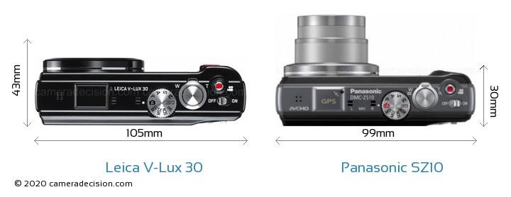 Leica V-Lux 30 vs Panasonic SZ10 Detailed Comparison