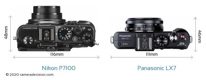 Nikon P7100 vs Panasonic LX7 Detailed Comparison