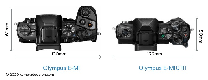 Olympus E-M1 vs Olympus E-M10 MIII Detailed Comparison