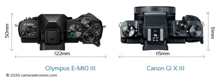 Olympus E-M10 MIII vs Canon G1 X III Detailed Comparison