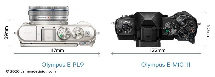 Olympus E-PL9 vs Olympus E-M10 MIII Detailed Comparison