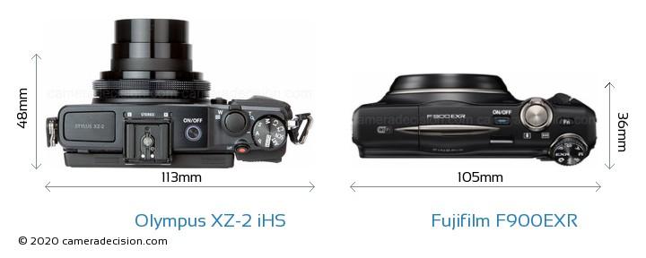 Olympus XZ-2 iHS vs Fujifilm F900EXR Detailed Comparison