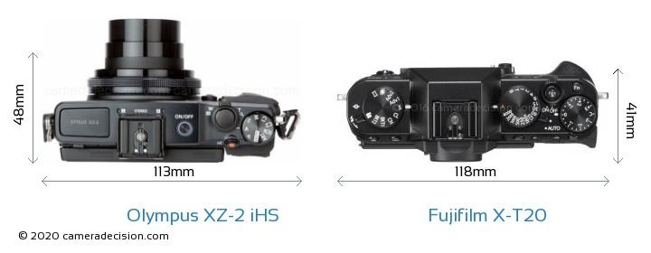 Olympus XZ-2 iHS vs Fujifilm X-T20 Detailed Comparison