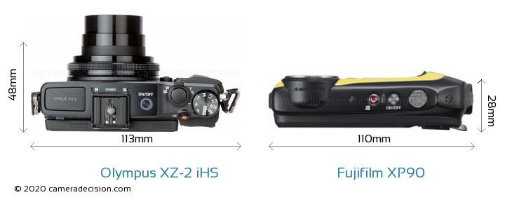 Olympus XZ-2 iHS vs Fujifilm XP90 Detailed Comparison