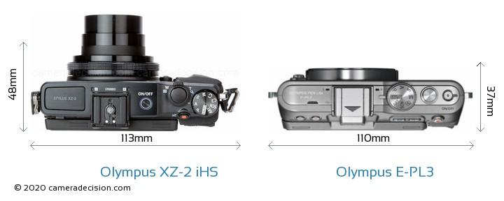 Olympus XZ-2 iHS vs Olympus E-PL3 Detailed Comparison