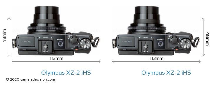 Olympus XZ-2 iHS vs Olympus XZ-2 iHS Detailed Comparison