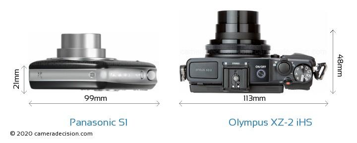 Panasonic S1 vs Olympus XZ-2 iHS Detailed Comparison