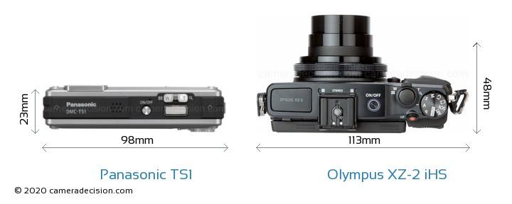 Panasonic TS1 vs Olympus XZ-2 iHS Detailed Comparison