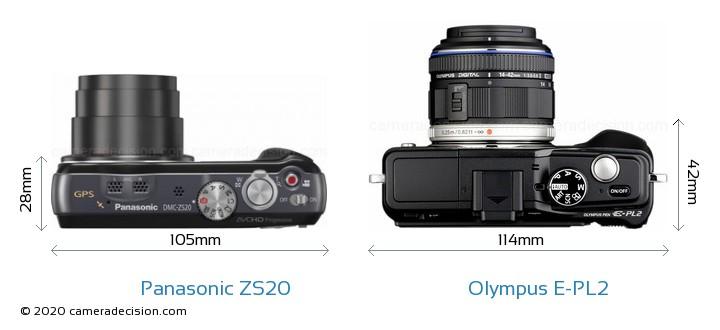 Panasonic ZS20 vs Olympus E-PL2 Detailed Comparison