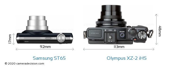 Samsung ST65 vs Olympus XZ-2 iHS Detailed Comparison