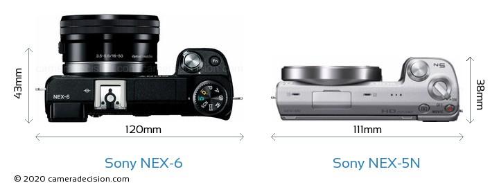 Sony NEX-6 vs Sony NEX-5N Detailed Comparison
