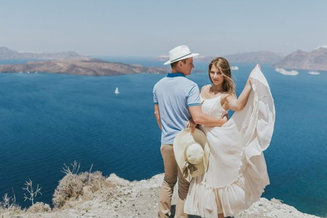 Engagement Love story photo session in Greece