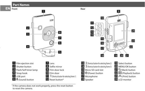 Fujifilm Instax Mini LiPlay Users Manual Leaked, to be