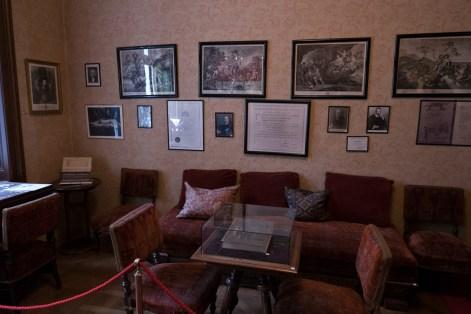 waiting room freud museum vienna