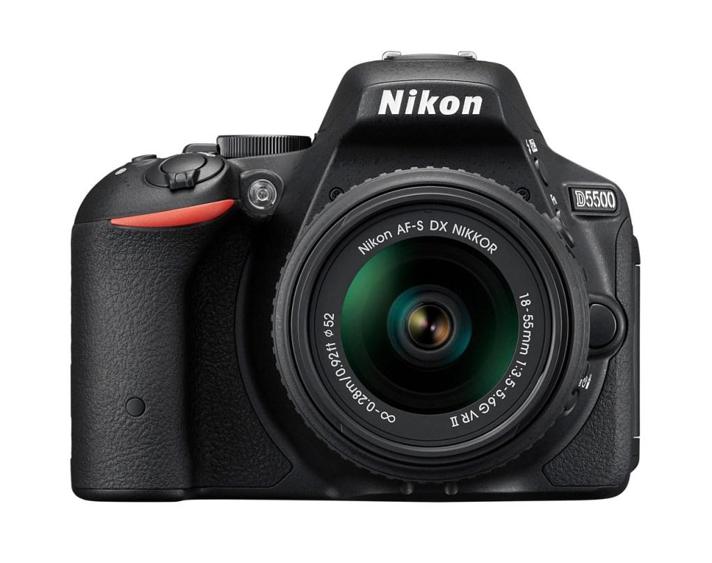 What is a DSLR camera: Nikon D5500