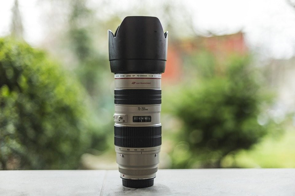 What is a telephoto lens