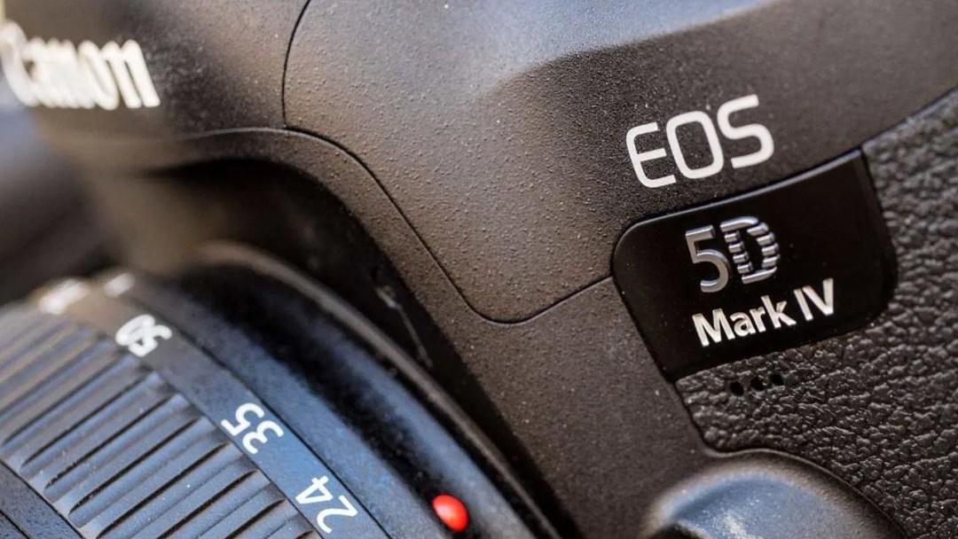 Canon 5D Mark IV logo