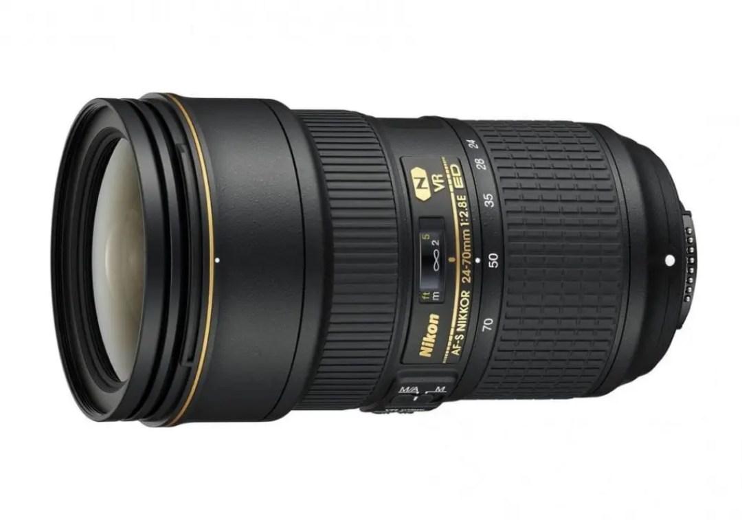 Best Nikon FX lenses: 02 Nikon AF-S 24-70mm f/2.8E ED VR, £1,850