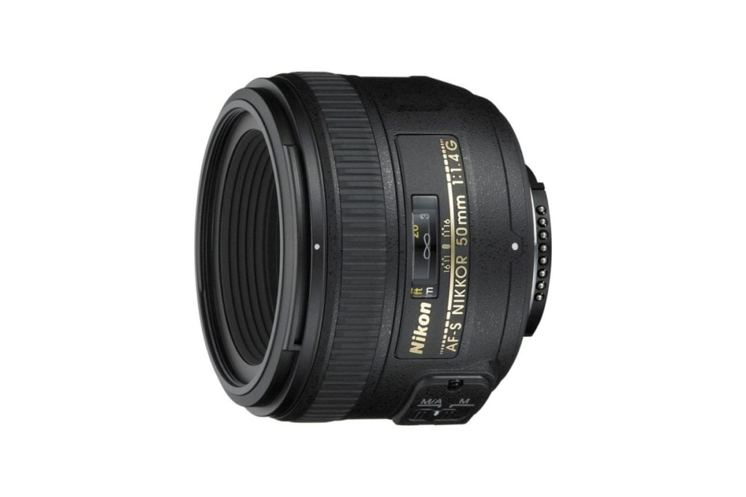 Best Nikon FX lenses: 05 Nikon AF-S 50mm f/1.4G, £350