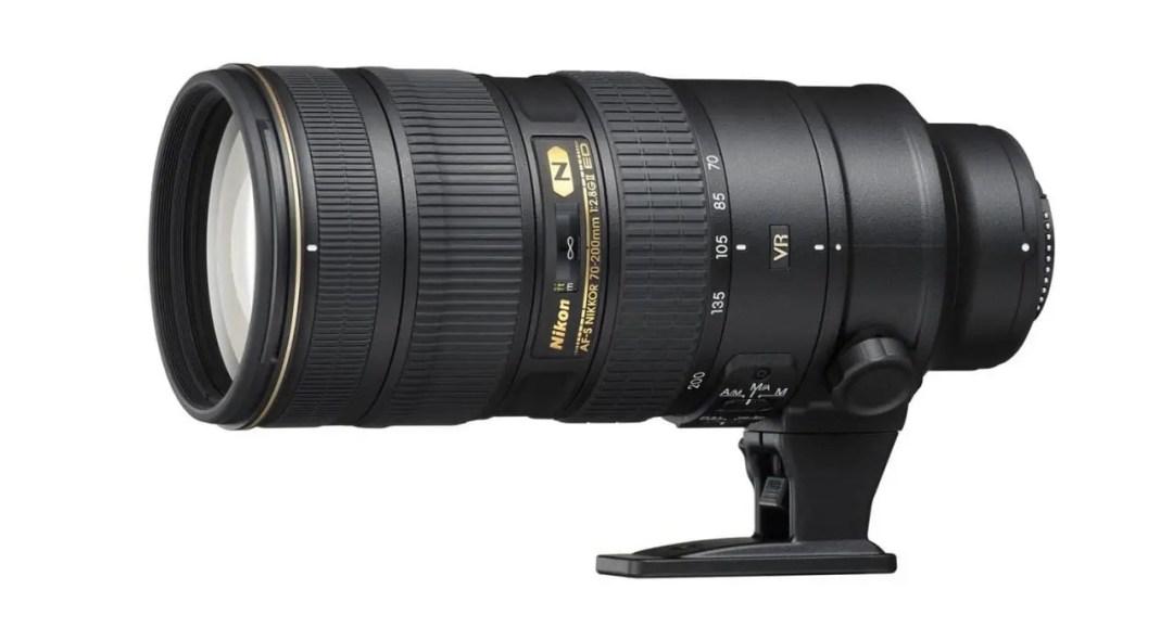 Best Nikon FX lenses: 03 Nikon AF-S 70-200mm f/2.8G ED VR II, £1,800