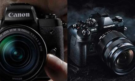 Olympus OM-D E-M1 Mark II Vs the Canon EOS M5