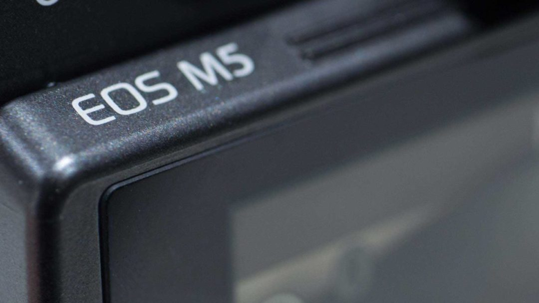 Canon EOS M5 Hands on