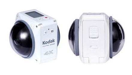 Kodak PixPro 4KVR360 / ORBIT360 now shipping worldwide