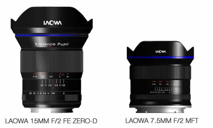 Laowa to launch 7.5mm f/2, 15mm f/2 lenses at Photokina