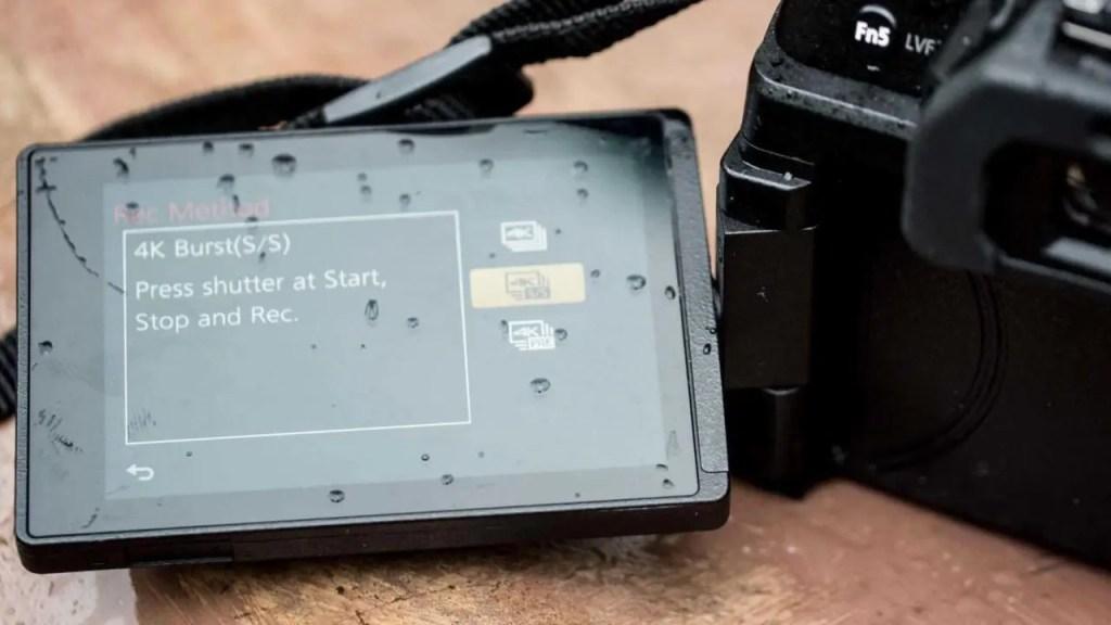 Panasonic Lumix G80 screen