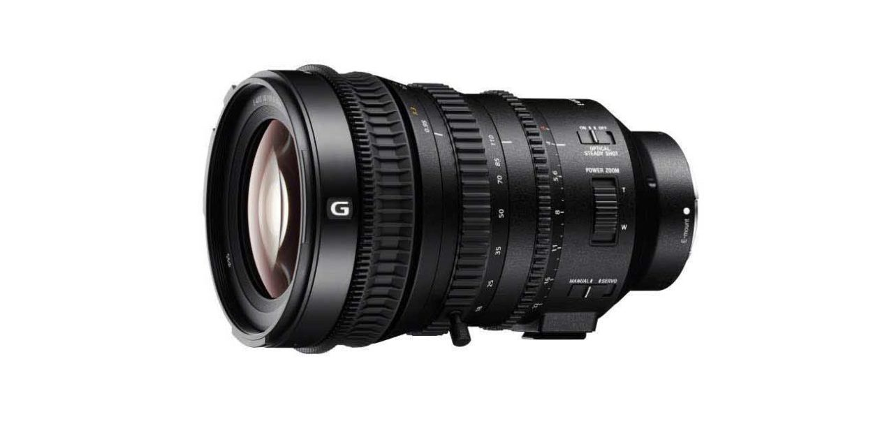 Sony unveils 18-110mm Super 35mm / APS-C lens for 4K video