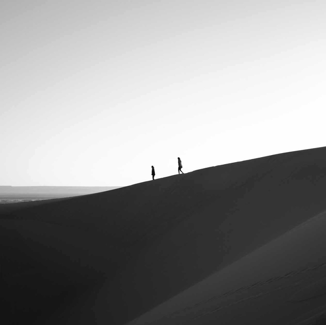 How To Shoot A Minimalist Black And White Landscape In The