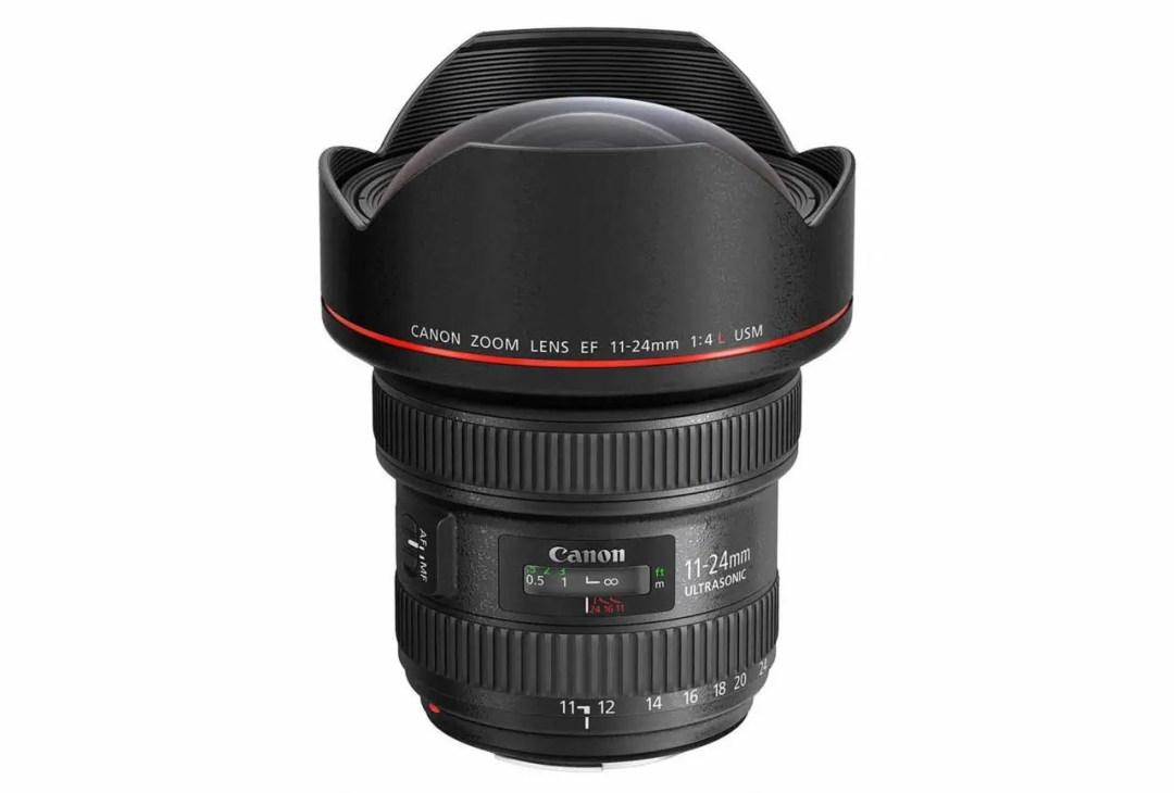 Best Canon EF lenses: 01 Canon EF 11-24mm f/4L USM, £2,800