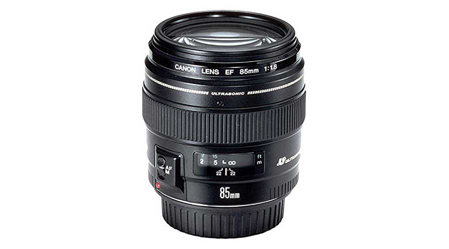 Best Canon EF lenses: 06 Canon EF 85mm f/1.8 USM, £240
