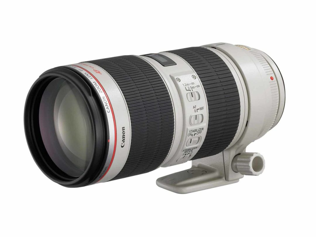 Best Canon EF lenses: 03 Canon EF 70-200mm f/2.8L IS II USM, £1,500