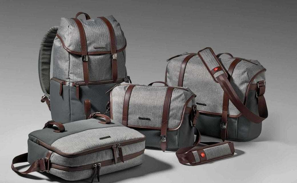 Manfrotto debuts high-end Windsor Collection camera bags