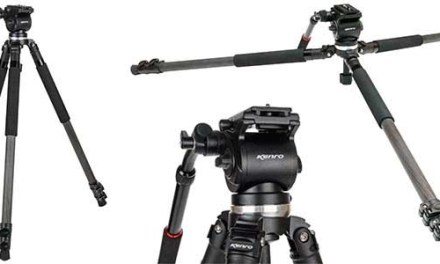 Kenro launches carbon fibre KENVT102C video tripod
