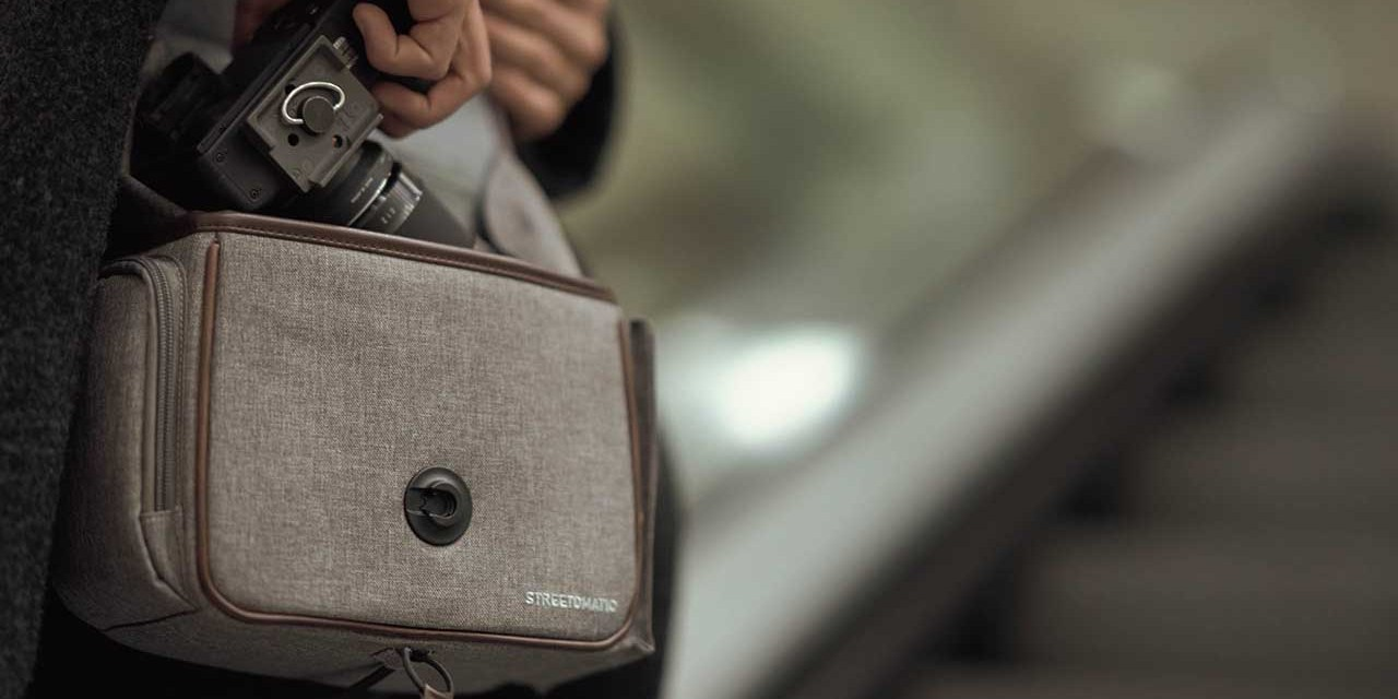 COPYSPEED releases new CAMSLINGER Streetomatic+ bag for DSLRs