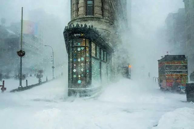 New York snow storm- Michele Palazzo/tpoty.com