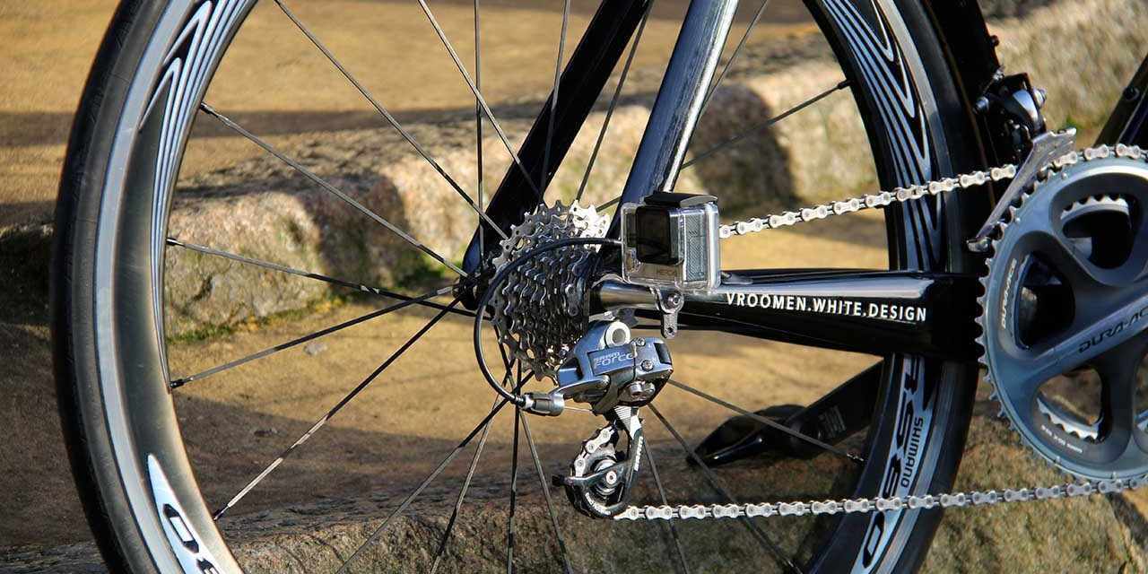 New NUT-R GoPro mount fixes directly to your bike's wheel axle nut