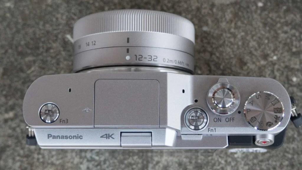 Panasonic GX800 top
