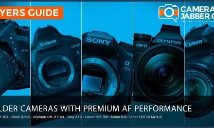 7 older cameras that offer premium autofocus performance