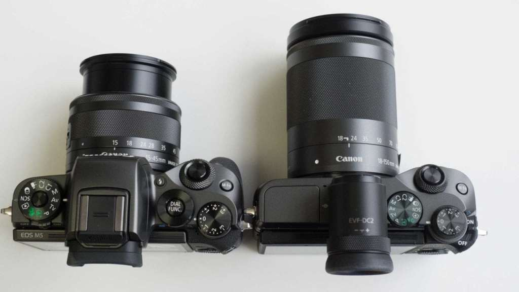Canon ESO M6 with M5