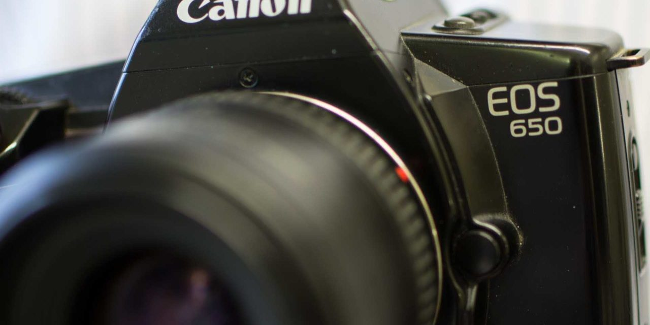 Canon EOS system is 30 years old