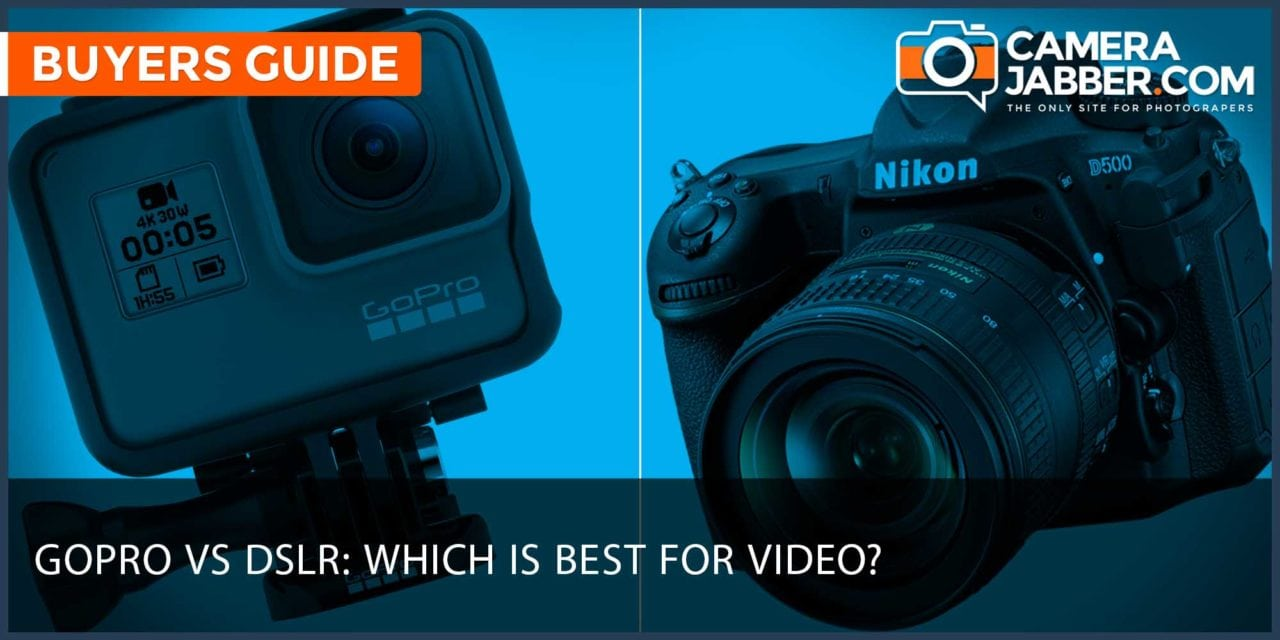 GoPro vs DSLR: which is best for video