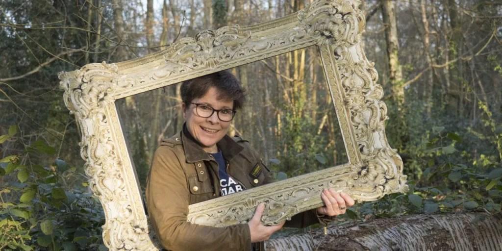 Silly Jokes Raphael Foam Posing Frame in Large size