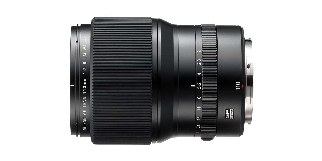 Fuji launches GF110mm f/2 R LM WR lens for GFX 50S